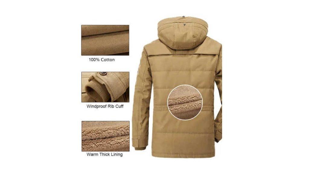 Best Thick Fleece Winter Coat for Men Features