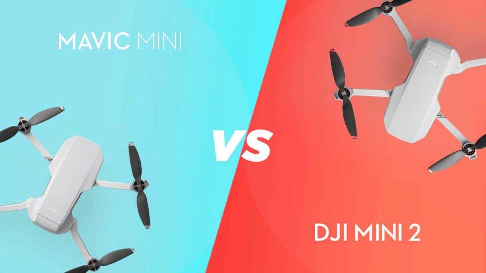 DJI Mavic Mini vs DJI Mini 2