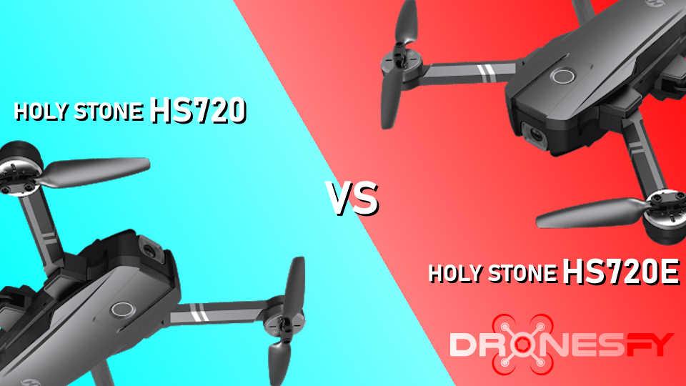 Holy Stone HS720 vs Holy Stone HS720E