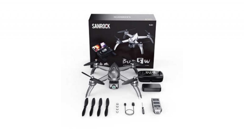 Sanrock B5W Drone Package Contents